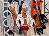 Rock Attitude Prints by Pierre Farel