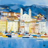 Bastia Prints by Anne-marie Grossi