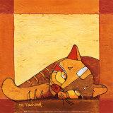 La Sieste du Chat I Kunst van Michèle Neuhard
