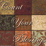 Words to Live By, Count Your Blessings Prints by Smith-Haynes 