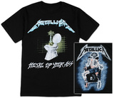 Metallica - Metal Up Your Ass Shirts