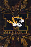 University of Missouri (Logo) NCAA Sports Poster Print Prints