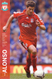Liverpool- Alonso Affiches