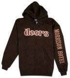 Zip Hoodie: The Doors - Hotel Logo T-Shirt