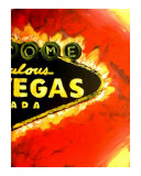 Las Vegas Nevada Sign 2 Giclee Print by Teo Alfonso
