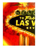 Las Vegas Nevada Sign I Giclee Print by Teo Alfonso