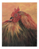French Country Rooster Giclee Print by Nadine M. Rippelmeyer