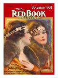 Redbook, December 1924 Poster