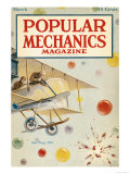 Popular Mechanics, March 1918 Premium Giclee Print