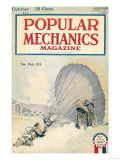Popular Mechanics, October 1918 Premium Giclee Print