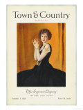 Town & Country, January 1st, 1923 Prints