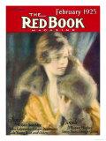 Redbook, February 1925 Premium Giclee Print