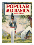 Popular Mechanics, August 1913 Premium Giclee Print