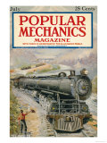 Popular Mechanics, July 1923 Premium Giclee Print