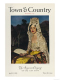 Town & Country, April 15th, 1923 Poster