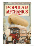 Popular Mechanics, October 1917 Poster