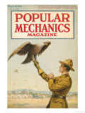 Popular Mechanics, December 1917 Art