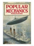 Popular Mechanics, August 1917 Premium Giclee Print