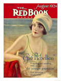 Redbook, August 1924 Premium Giclee Print