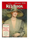 Redbook, February 1928 Art