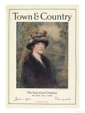 Town & Country, January 1st, 1920 Posters