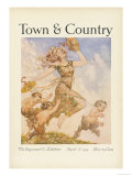 Town & Country, April 1st, 1915 Poster