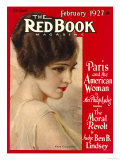 Redbook, February 1927 Posters