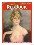 Redbook, March 1918 Poster
