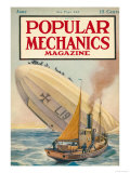 Popular Mechanics, June 1916 Premium Giclee Print