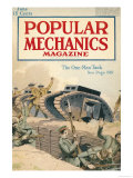 Popular Mechanics, June 1918 Premium Giclee Print