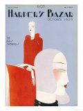 Harper&#39;s Bazaar, October 1929 Prints