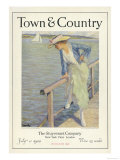 Town & Country, July 1st, 1920 Poster