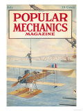 Popular Mechanics, July 1916 Art
