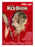 Redbook, July 1928 Poster