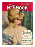 Redbook, July 1927 Art