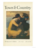 Town & Country, January 1st, 1917 Print