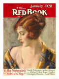 Redbook, January 1928 Premium Giclee Print