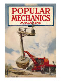 Popular Mechanics, April 1923 Art