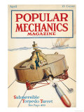 Popular Mechanics, April 1918 Premium Giclee Print