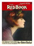 Redbook, April 1926 Poster