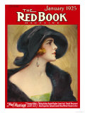 Redbook, January 1925 Premium Giclee Print