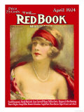 Redbook, April 1924 Art