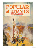 Popular Mechanics, August 1922 Premium Giclee Print