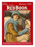 Redbook, January 1924 Premium Giclee Print
