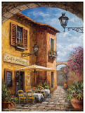 Courtyard Cafe Prints by Malcolm Surridge