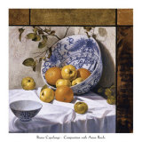 Composition with Asian Bowls, Still Life No. 6 Posters by Bruno Capolongo