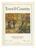 Town & Country, October 1st, 1920 Posters