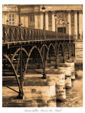 Ponts des Arts Posters by Marina Drasnin Gilboa