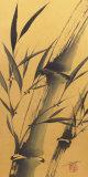 Bamboo's Strength Poster by Katsumi Sugita