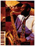 Jazz Club Prints by Keith Mallett